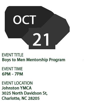 Boys to Men Mentorship Program